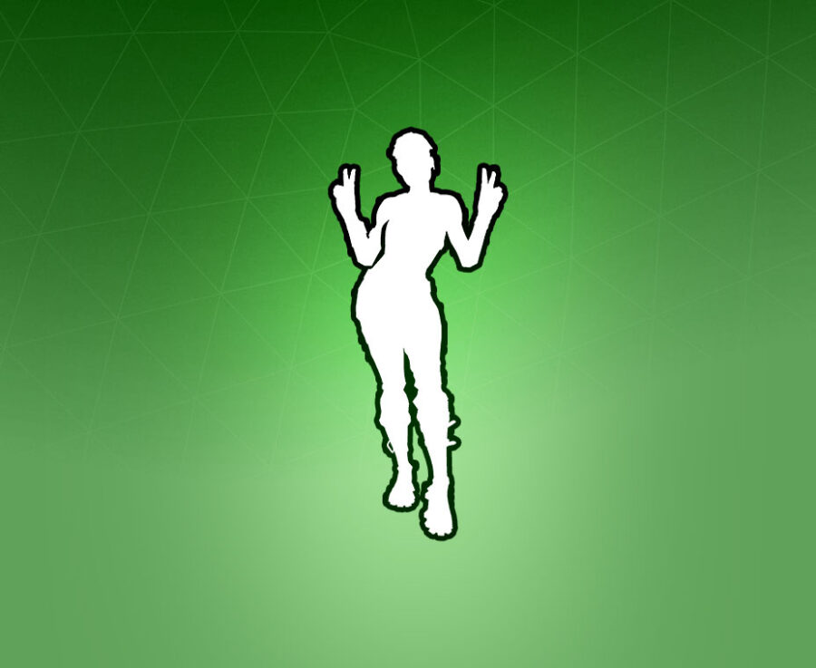 Peace Out Emote