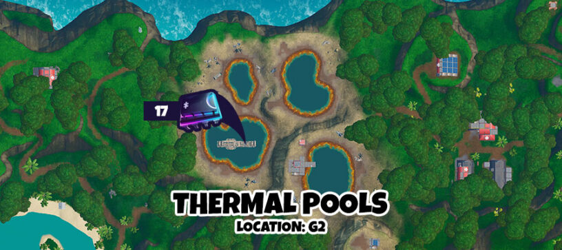 Fortnite Fortbytes Locations List Cheat Sheet Map All Locations