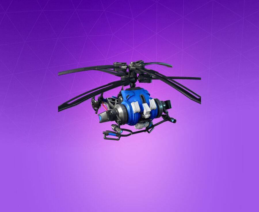 Coaxial Blue Glider