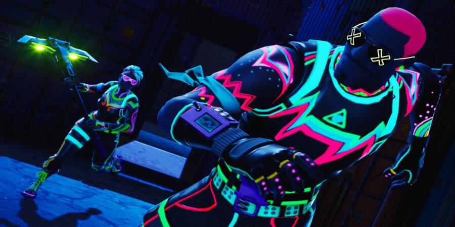 Neon Glow Loading Screen