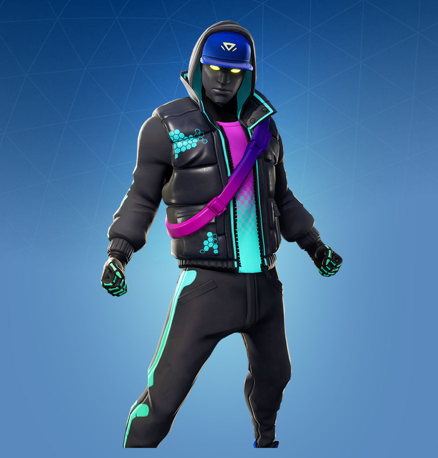 Fortnite Cryptic Skin - Outfit, PNGs, Images - Pro Game Guides
