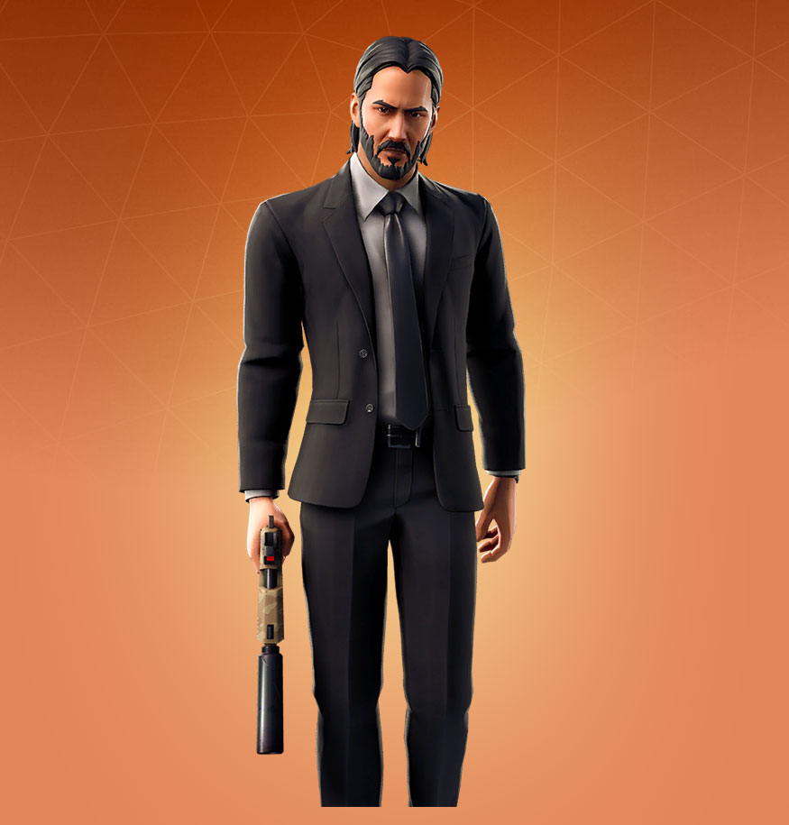 Fortnite John Wick Skin - Outfit, PNGs, Images - Pro Game Guides