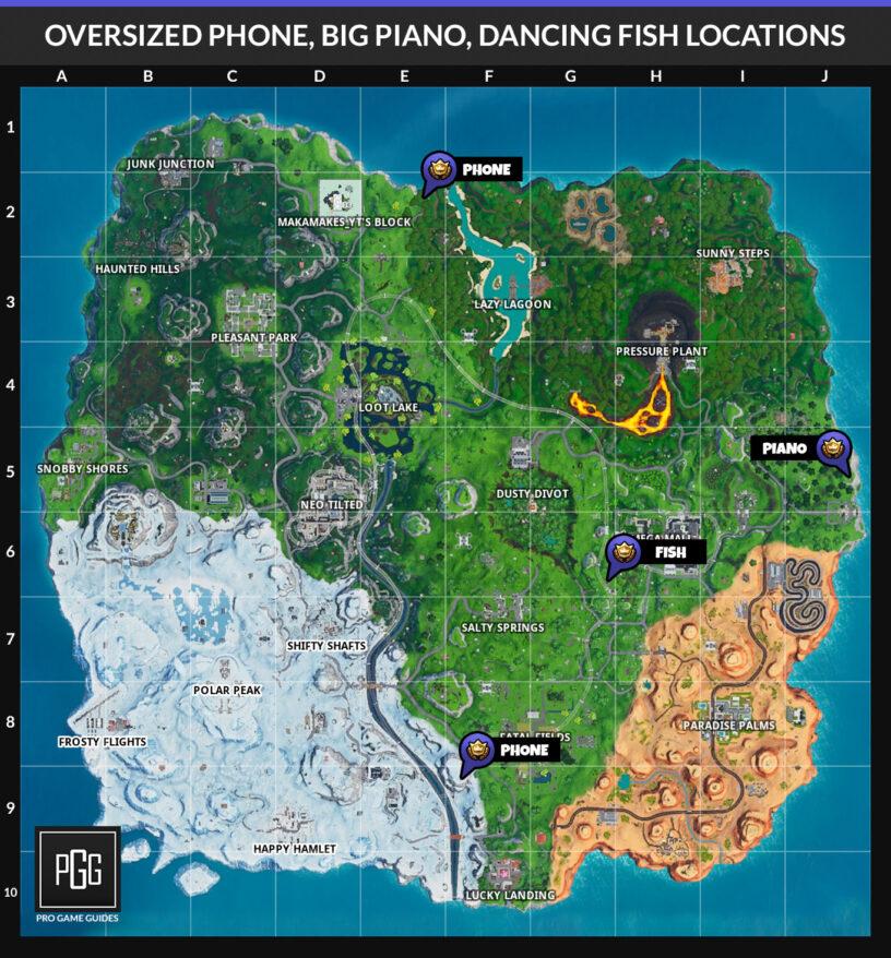 Fortnite Season 9 Week 2 Challenges List, Cheat Sheet
