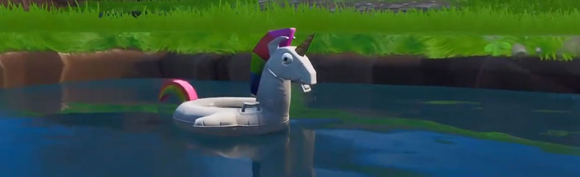 Fortnite Unicorn Floaties Locations 14 Days Of Summer Pro Game