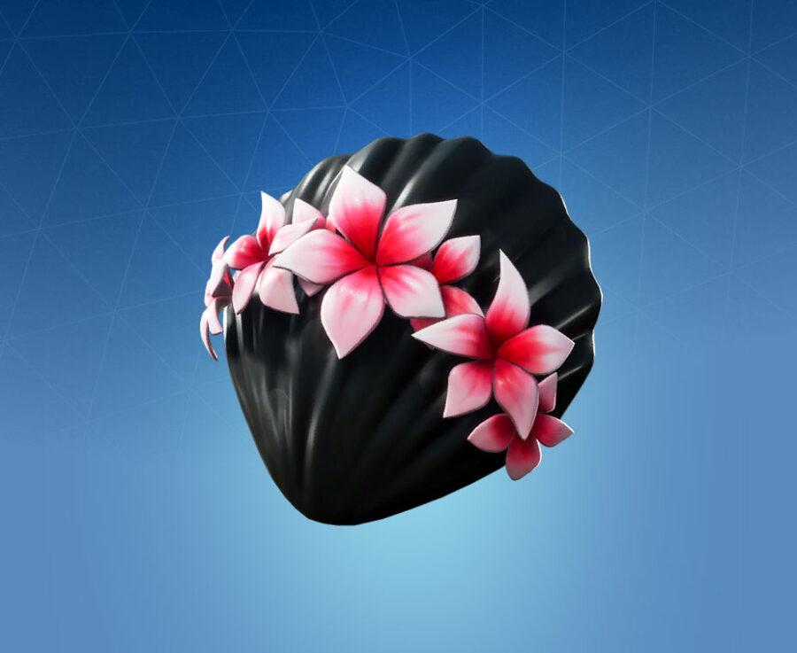 Floral Shell Back Bling