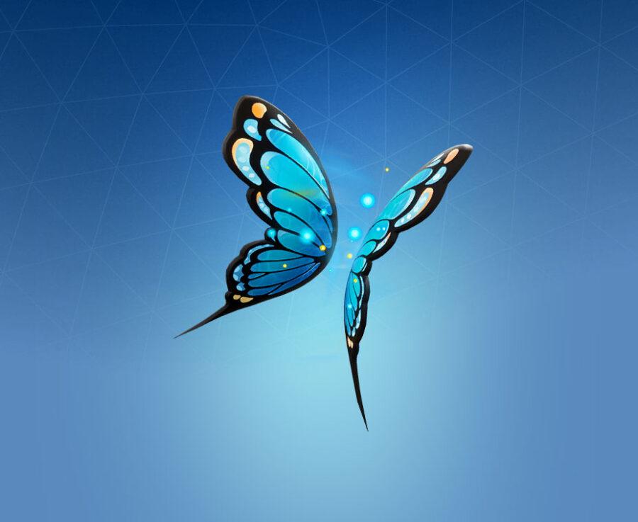Flutter Wings Back Bling