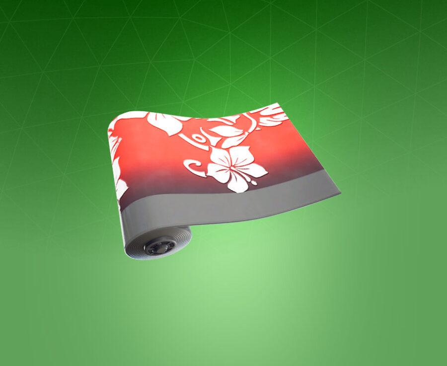 Flowerprint Wrap