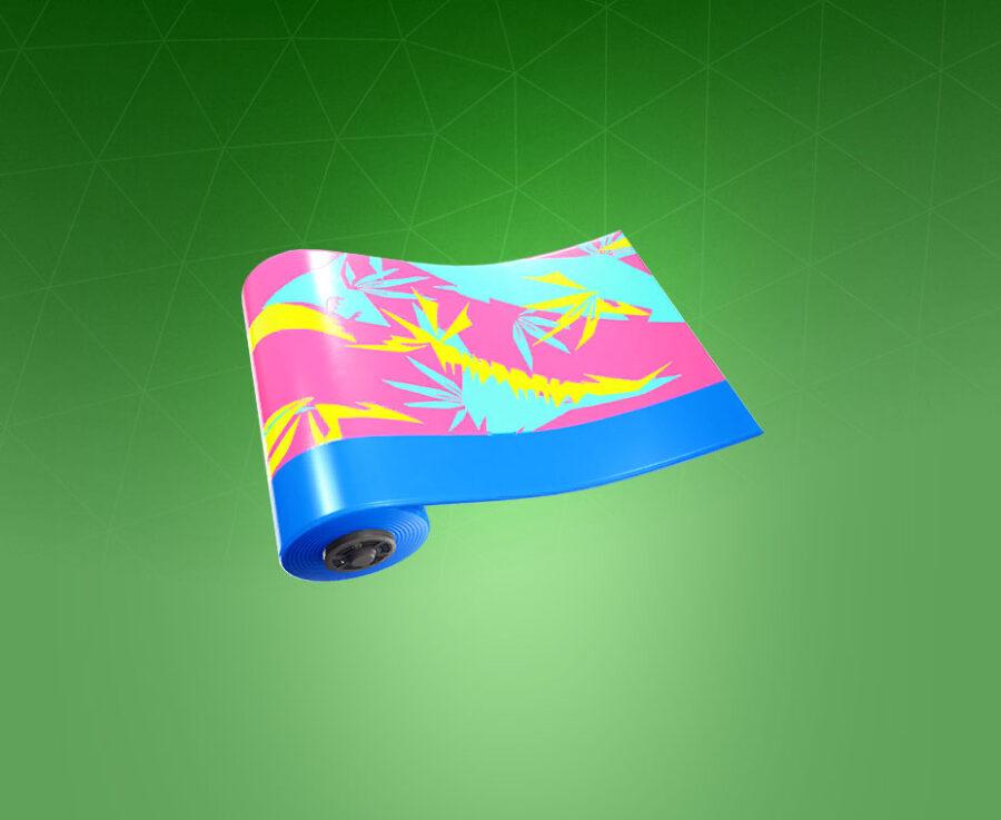 Neon Tropics Wrap