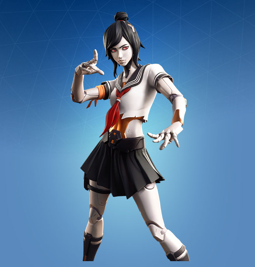 Fortnite Tsuki Skin Outfit Pngs Images Pro Game Guides