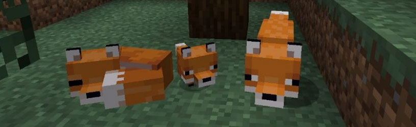 Minecraft: How-to Tame a Fox – Finding Foxes, Held Items