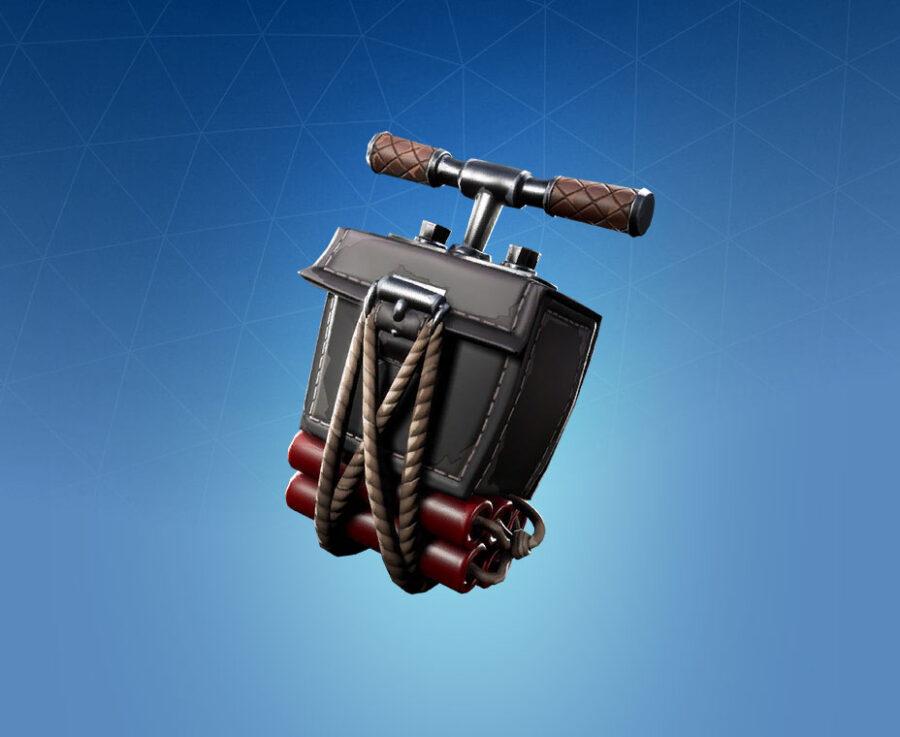 Detonator Back Bling