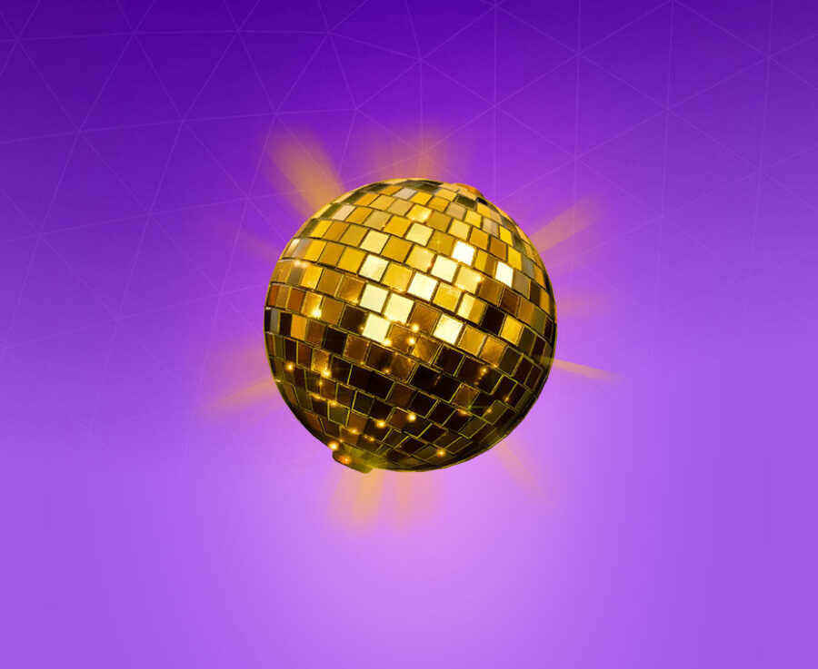 Golden Disco Back Bling