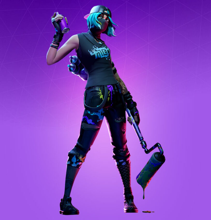 Tilted Teknique Skin