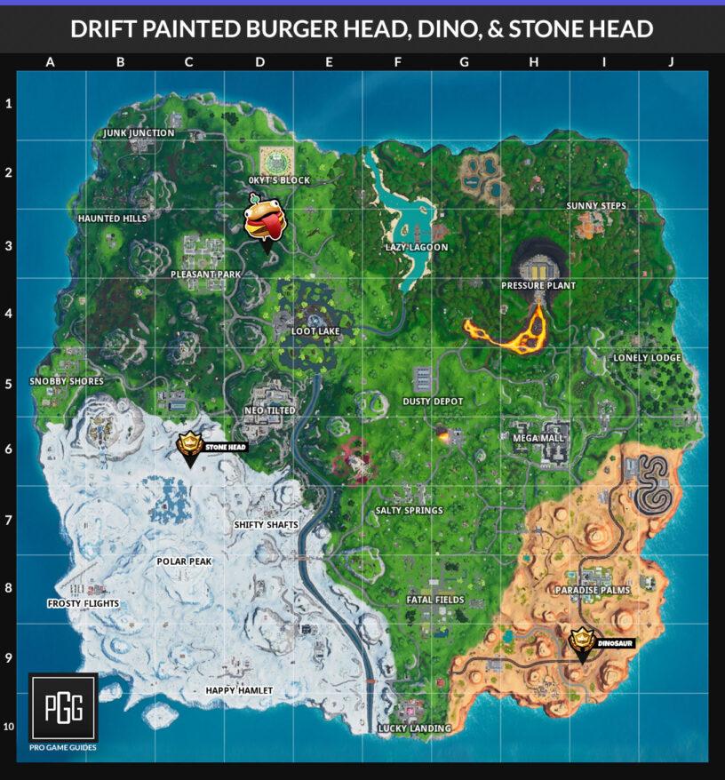 Fortnite Season 10x Road Trip Challenges List Guide