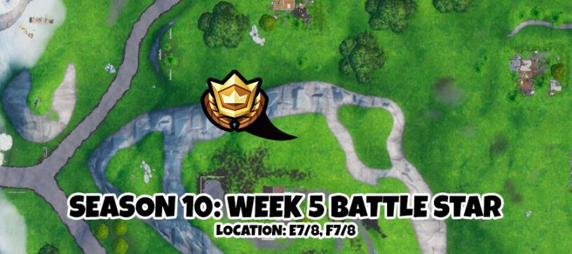 Fortnite Season 10 Week 5 Secret Battle Star Location – Pro