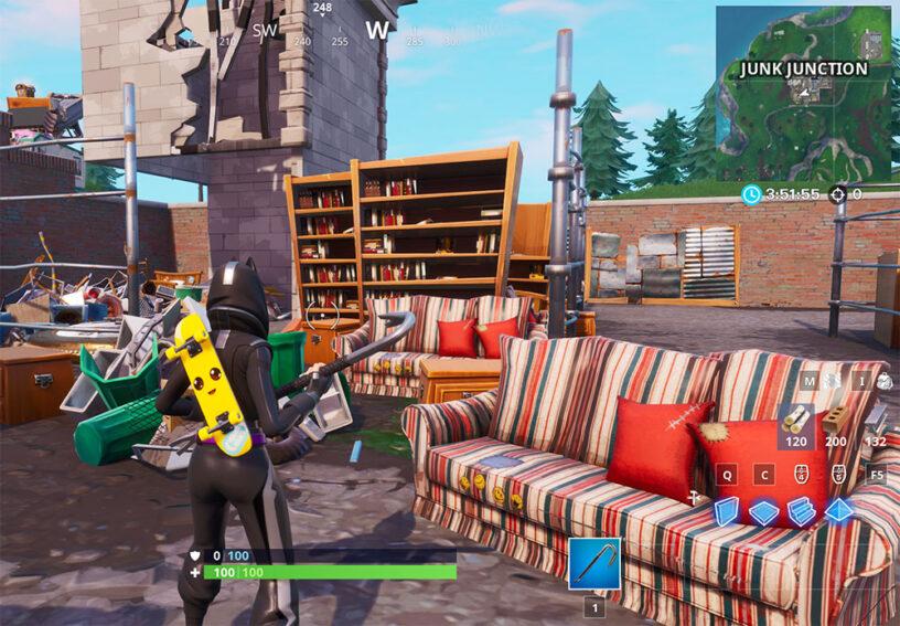 Fortnite Season 10 Smash & Grab Challenges – Cheat Sheet