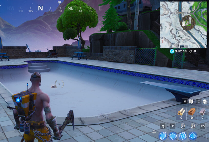 Fortnite Bat Statue Above Ground Pool Seat For Giants