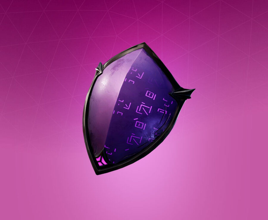 Dark Shield Back Bling