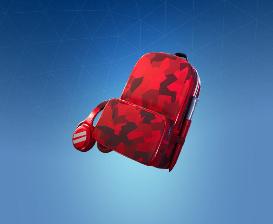 Red Alert Back Bling