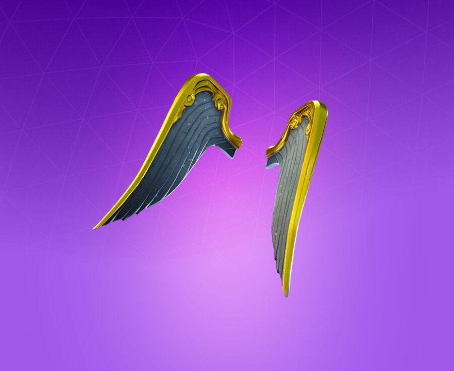 Wings of Love Back Bling