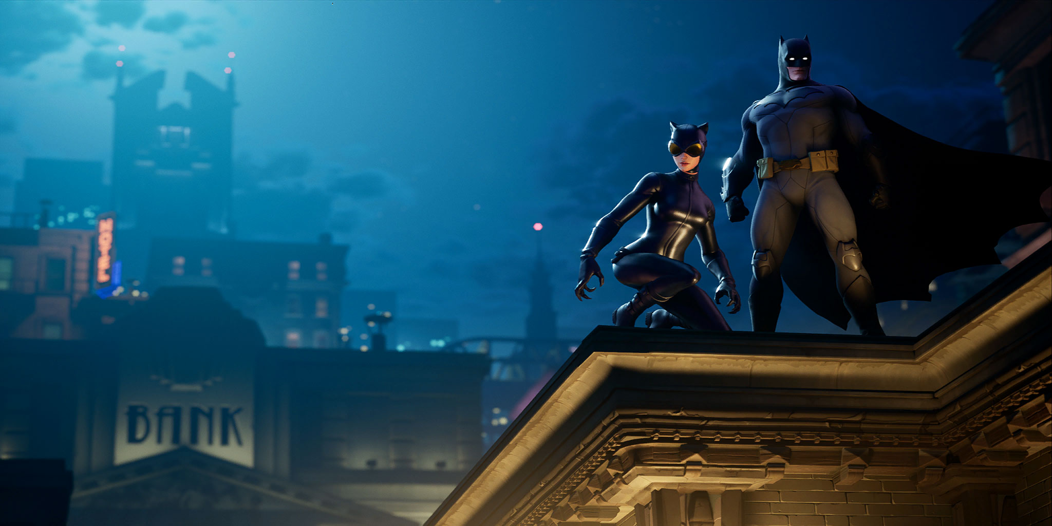 Fortnite The Bat And The Cat Loading Screen - Pro Game Guides