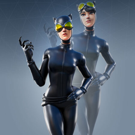 Catwoman Comic Book Outfit skin