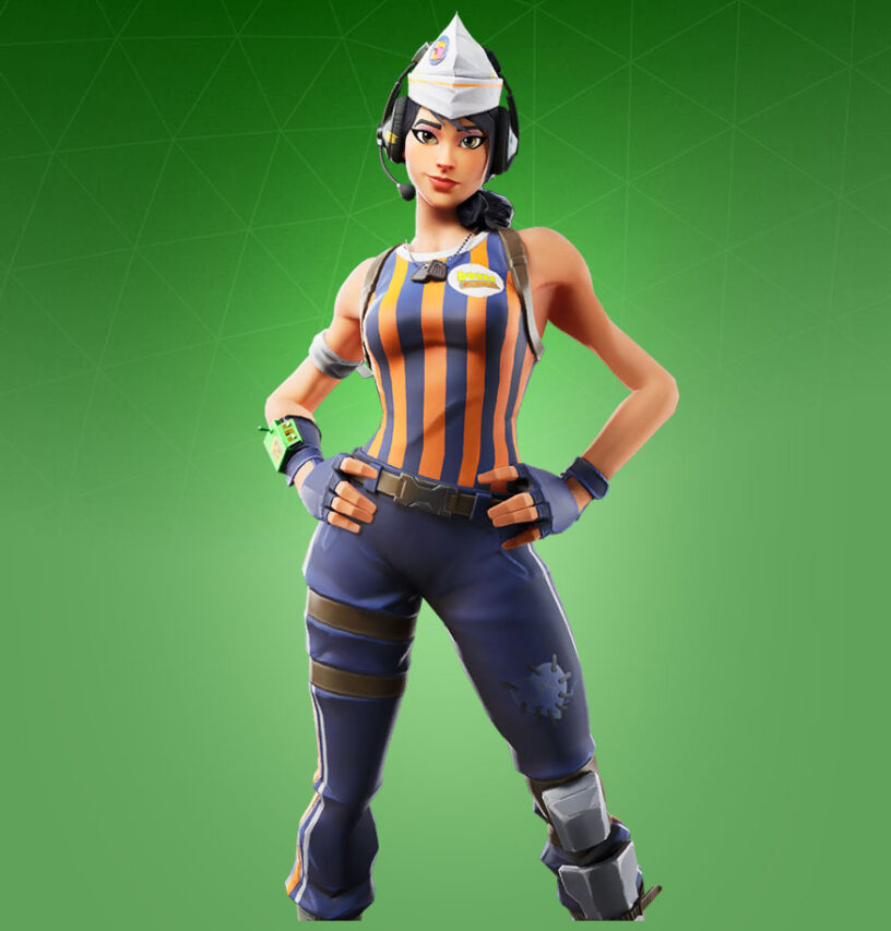 Sizzle Sgt. Skin