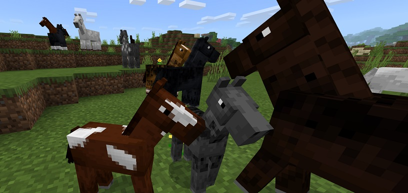 Minecraft Horse Breeding Guide How To Breed Horses Pro Game Guides