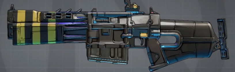 Level 50 in game mail or drop Itchy Rock Hard Bearcat Borderlands 3 Legendary Assault Rifle
