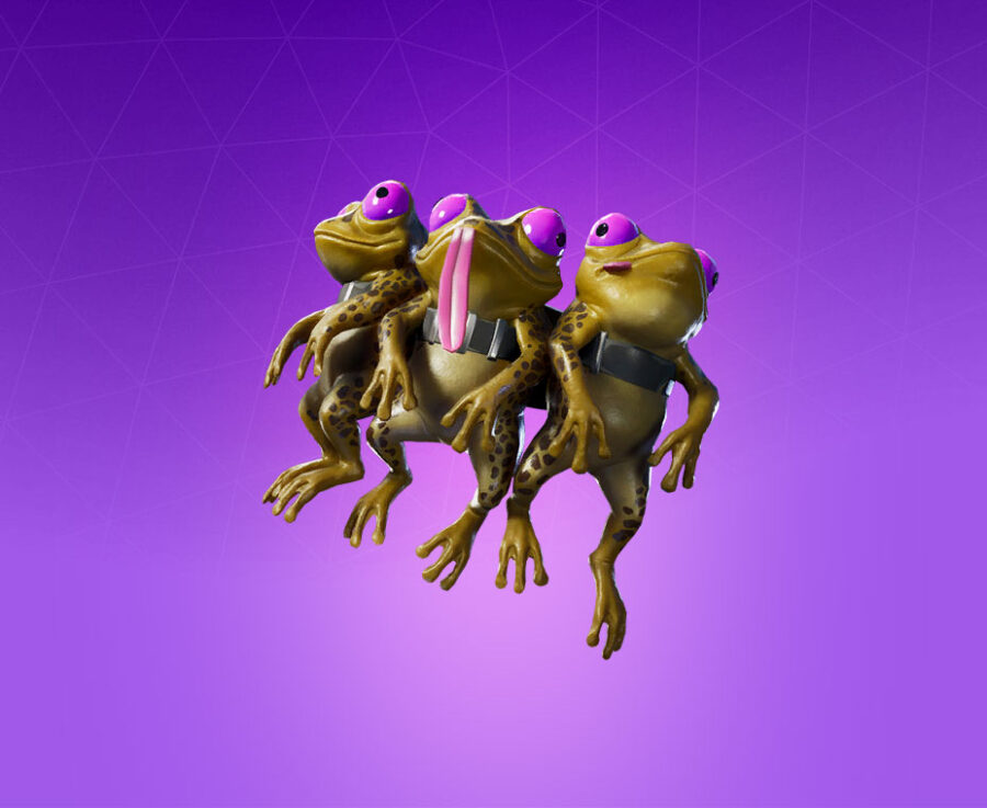 Council of Frogs Back Bling