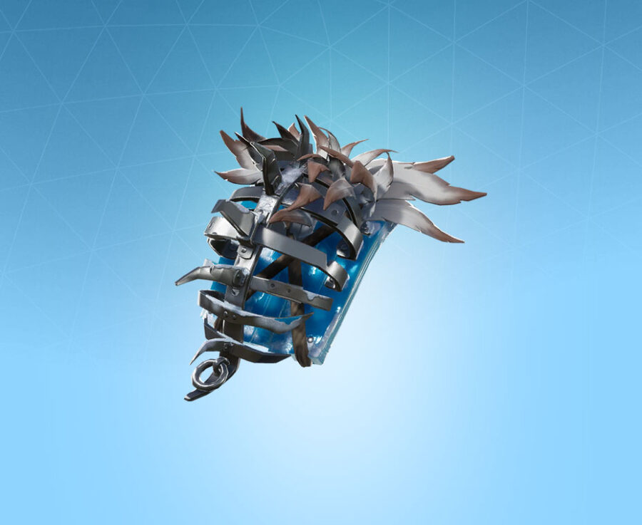 Frozen Iron Cage Back Bling