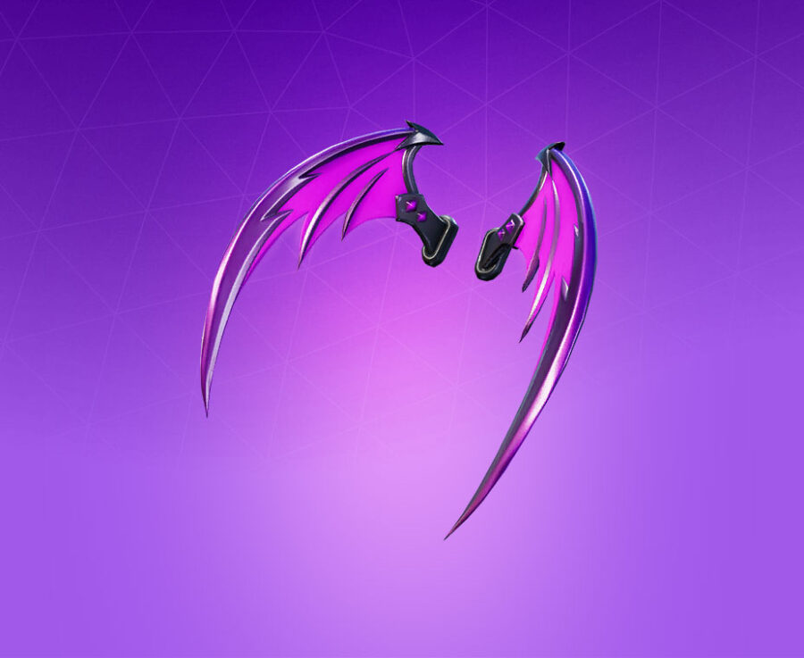 Indigo Wings Back Bling