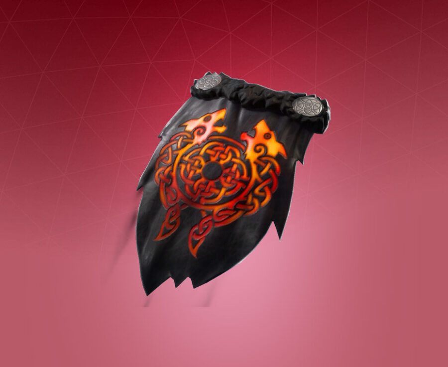 Molten Crested Cape Back Bling