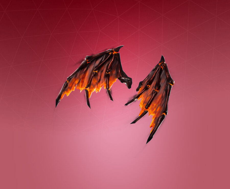 Molten Valkyrie Wings Back Bling