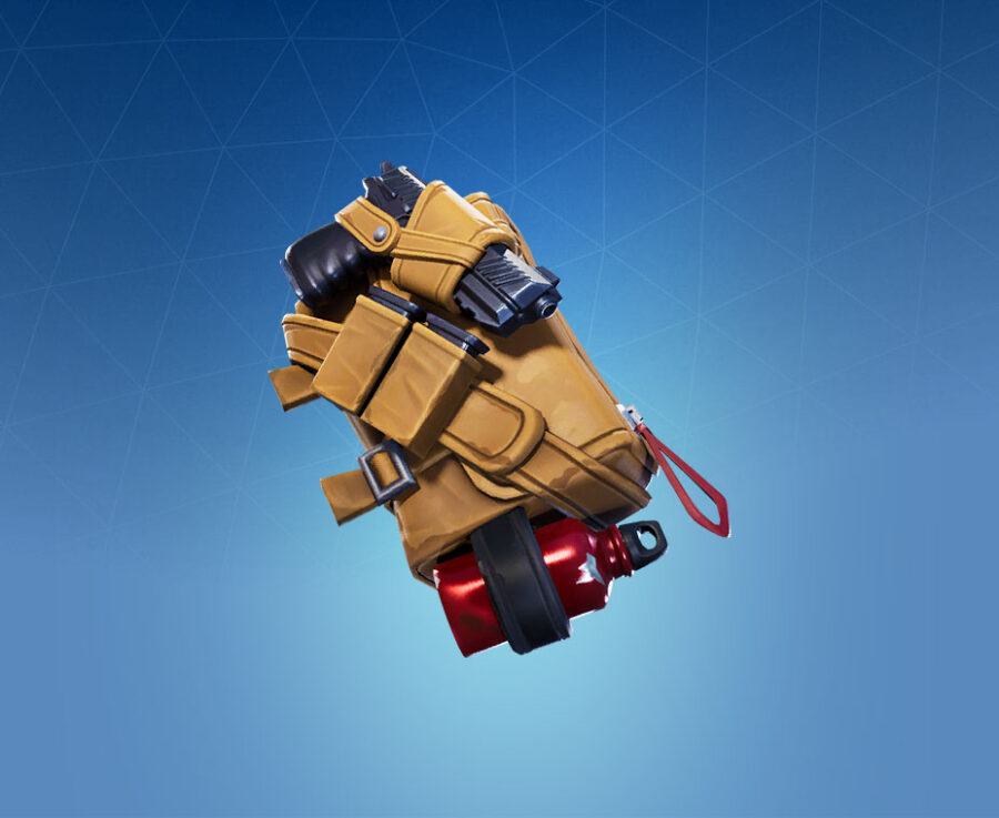 Saddle Bag Back Bling