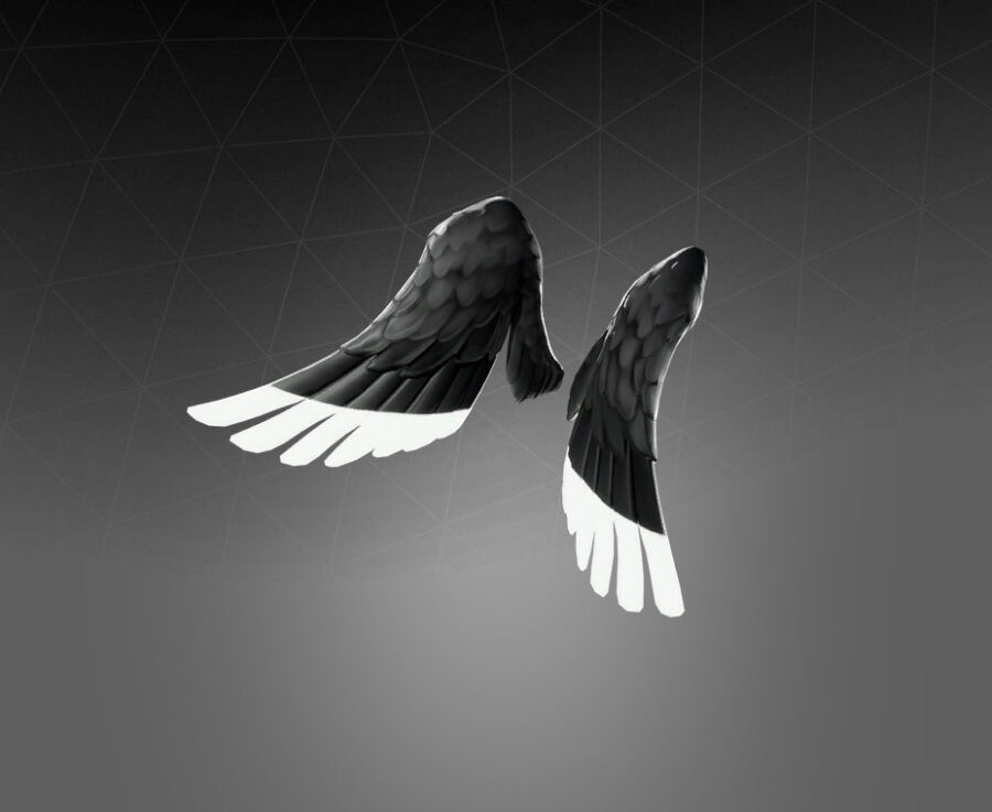 Shadow Ark Wings Back Bling