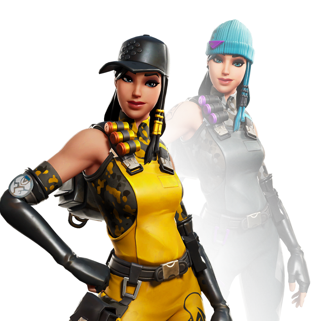 Fortnite Outcast Skin - Outfit, PNGs, Images - Pro Game Guides