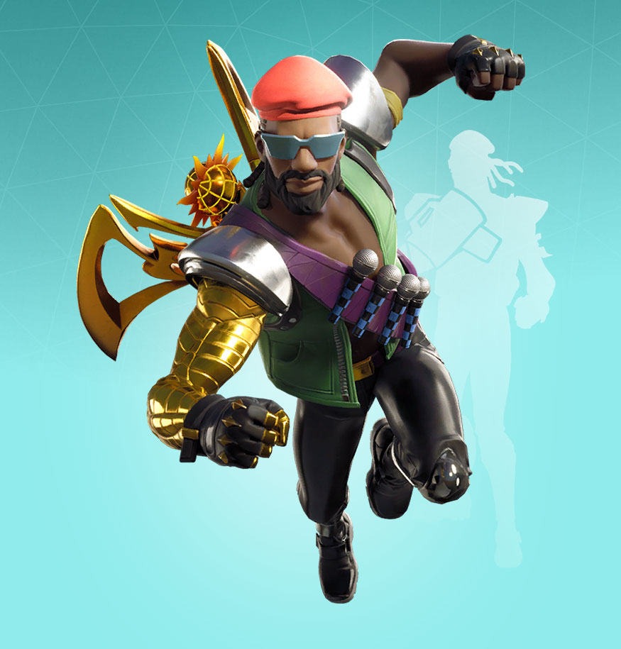 Fortnite Major Lazer Skin - Outfit, PNGs, Images - Pro ...