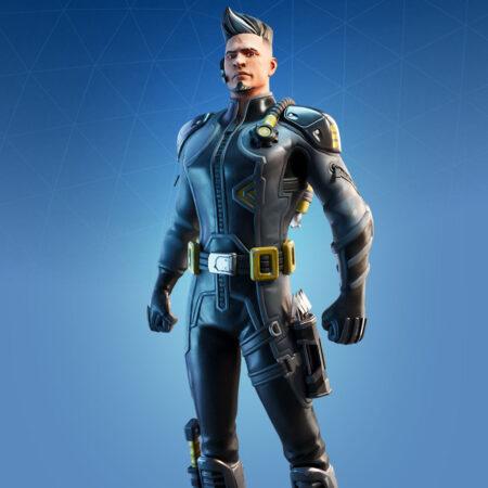 Trench Raider skin