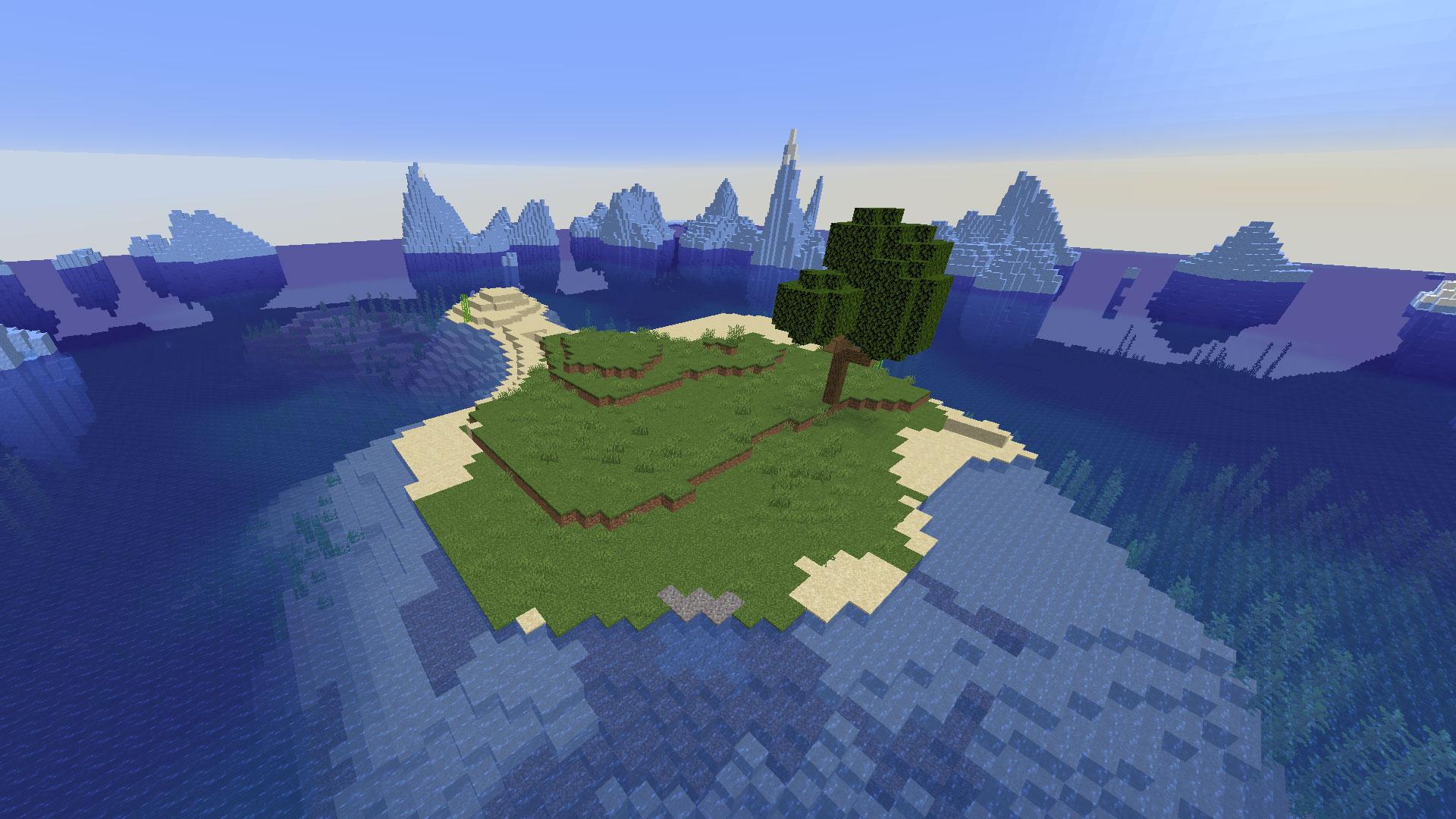 Minecraft Island Seeds (12) - All Platforms and Versions! - Pro