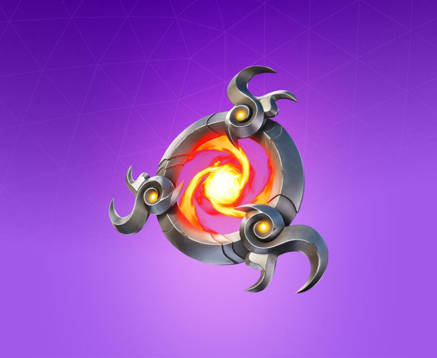 Fire Vortex Back Bling
