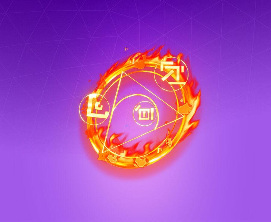 Flame Sigil Back Bling