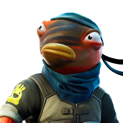 Fortnite Triggerfish Skin Character PNG Images Pro