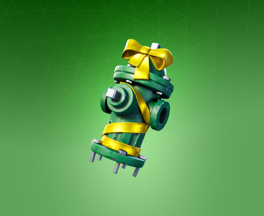 Holiday Hydrant Back Bling
