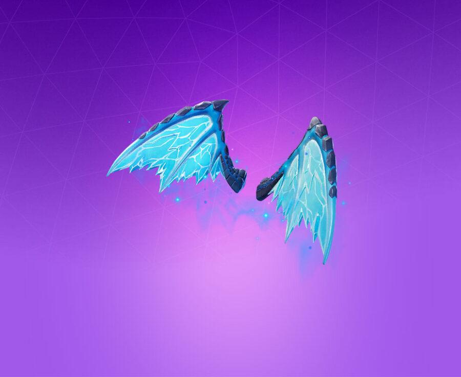 Ice Wings Back Bling