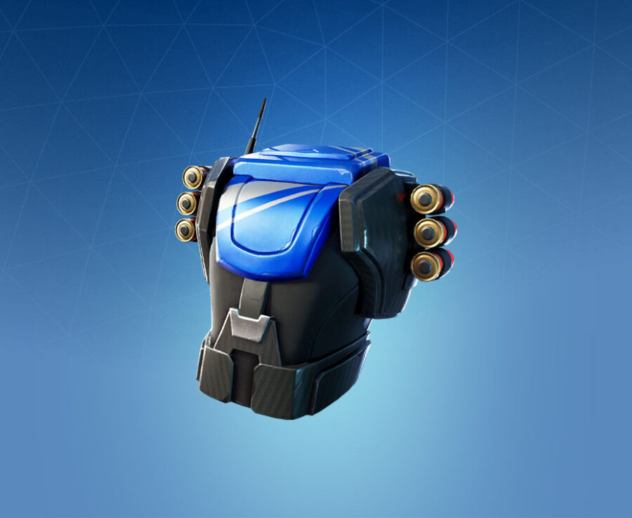 Reliant Blue Back Bling
