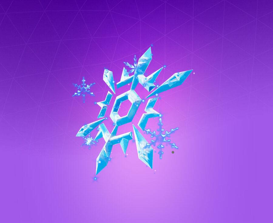 Snow Crystal Back Bling