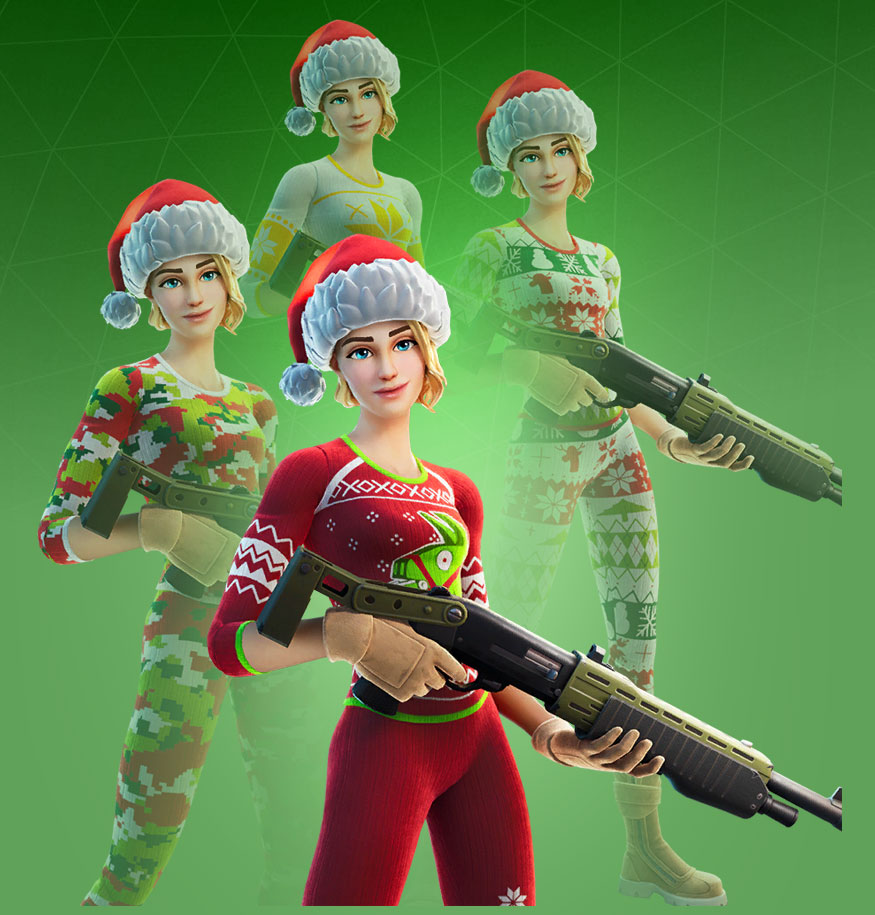 Fortnite Cozy Commander Skin Character Png Images Pro Game Guides