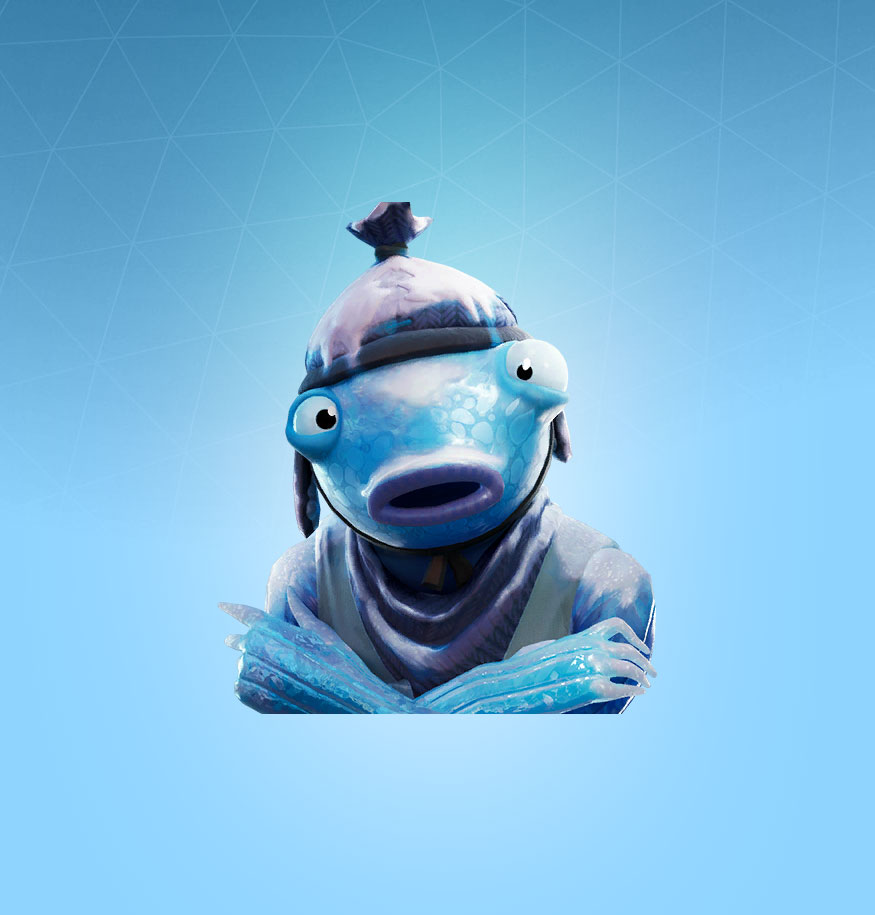 Fortnite Frozen Fishstick Skin - Outfit, PNGs, Images ...