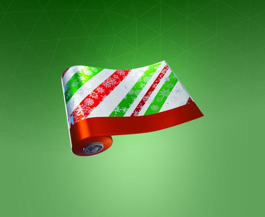 Merry Stripe Wrap